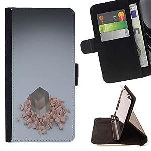 BullDog Case - FOR/LG G2 D800 / - / Cube /- Monedero de cuero de la PU Llevar cubierta de la caja con el ID Credit Card Slots Flip funda de cuer