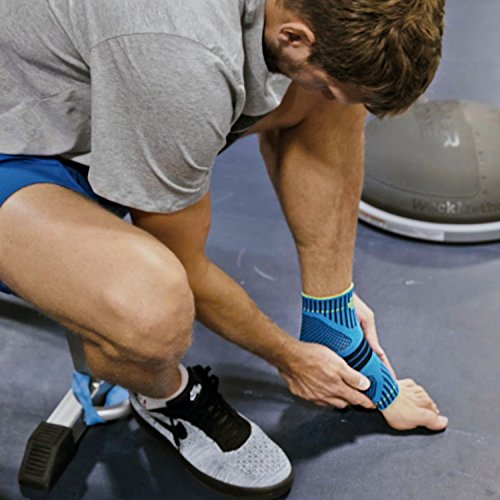 Bauerfeind Sports Ankle Support Dynamic - Ankle Compression Sleeve for Freedom of Movement - 3D AirKnit Fabric for Breathability - Premium Quality & Washable (M, Black) by Bauerfeind (Image #8)