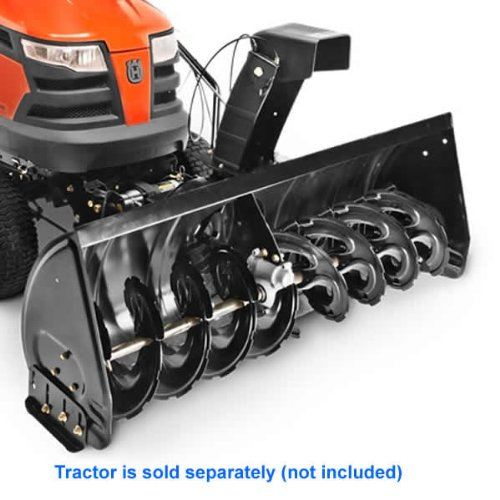 Husqvarna 581 34 57-01 Tractor Mount Two-Stage Snow Blower with 50″ Clearing Width