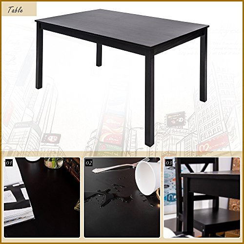 Person Kitchen Espresso Table And Chairs