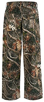 Insect Xtreme Six-Pocket Insect Repellent Hunting Pants: Washable Camo Tactical Pants with Embedded EPA-Approved Insect Repellent - Guards Against Mosquitos, Flies, Ticks and More