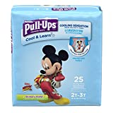 Pull-Ups Cool & Learn Potty Training Pants for Boys, 2T-3T (18-34 lb.), 25 Ct. (Packaging May Vary)