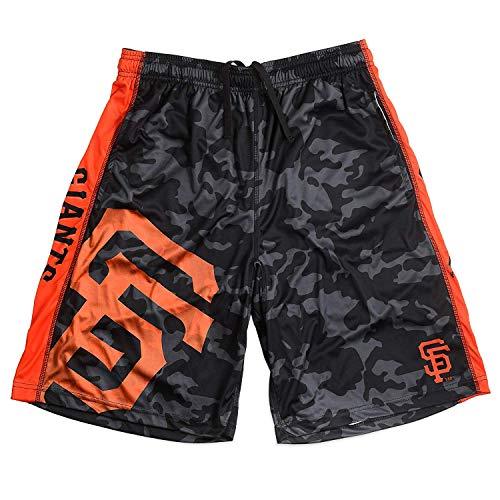 San Francisco Giants Big Logo Polyester Short Double Extra Large 38 - Mens Francisco Shorts Giants San
