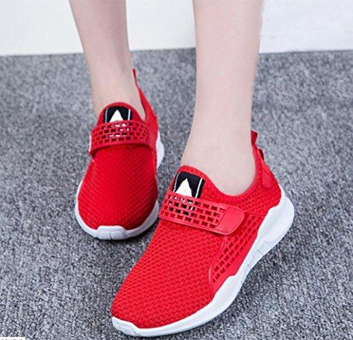 MEI autunno scarpe sportive adesivi magici piccoli scarpe bianche scarpe nere scarpe casual scarpe da donna traspirante , US8 / EU39 / UK6 / CN39
