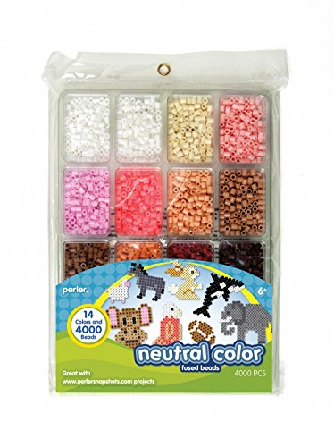 Perler Fused Bead Pkg Neutral Color