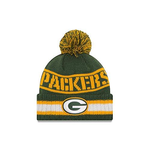 Hat Cuffed Knit Green (Green Bay Packers New Era NFL