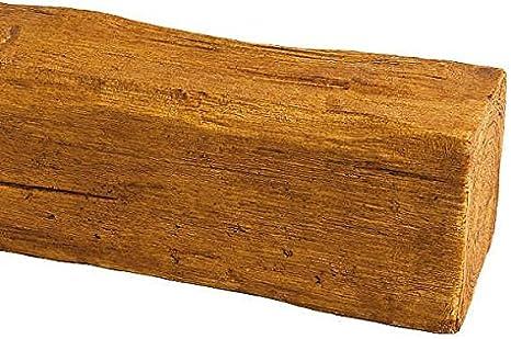 en polystyr/ène bois /équerre pour salon int/érieur et ext/érieur cuisine commerce 1,5 kg Amsterdam Poutre en bois 9 cm x 9 cm x 120 cm