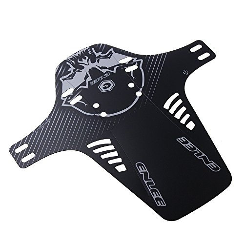 ENLEE Face Fender, Mountian Bike Fender,MTB Mudguard, Front and Rear Compatible,Fits 26