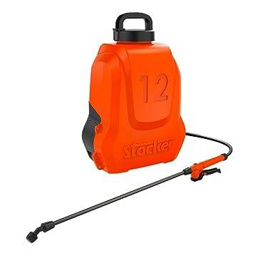 STOCKER Bomba de mochila una batería recargable de litio Lt. 12 Huerta y Jardín: Amazon.es: Jardín