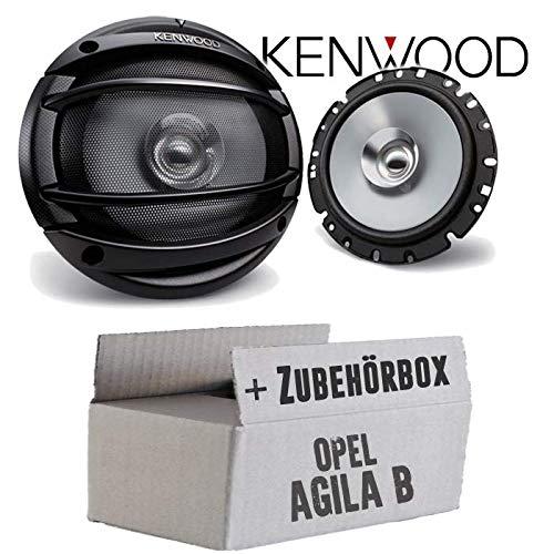Einbauset f/ür Opel Agila B JUST SOUND best choice for caraudio Kenwood KFC-E1754-16cm 160mm Lautsprecher Boxen Paar 180Watt