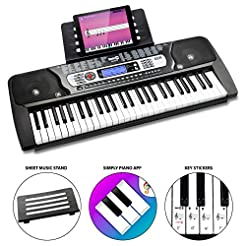 RockJam 54-Key Portable Electronic Keybo...