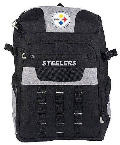Pittsburgh Steelers Franchise Back Pack - Licensed NFL Football Merchandise from Sports Collectibles