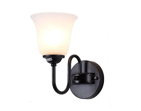 HJHY® lampada da parete, lampada da parete americana semplice da ...