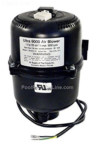 Air Supply 3913121 Ultra 9000 Blower 1.5 hp 7 Amp, 120V ()