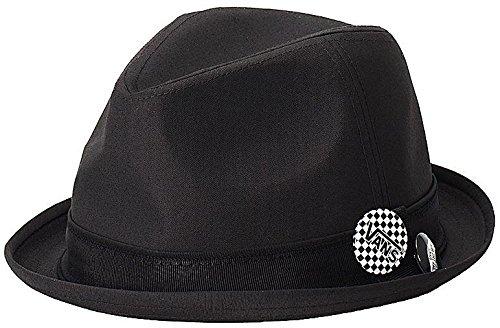 9967682527e96 Vans Off The Wall Mens Modernist Fedora Hat Cap - Black (S/M ...