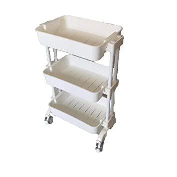 Amazon.com : MJHY Beauty Instrument Car Plastic Three-Layer Cupping Car Beauty Salon Tattoo Cart Beauty Trolley, Clear : Beauty