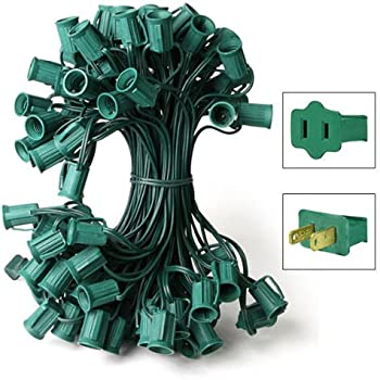 Amazon Com C9 Light String 100 Length 12 Quot Spacing