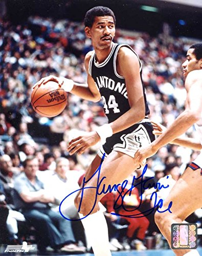 dcc2ba05ee6 George Gervin (Hall of Fame) Autographed/ Original Signed 8x10 ...