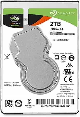 Seagate 2TB FireCuda Gaming SSHD SATA 6Gb/s 64MB Cache 2.5-Inch Hard Drive (ST2000LX001)