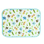 Fairy Baby Baby Changing Diaper Pad Waterproof Mat Natural Packing of 1(Monkey,50X70cm)