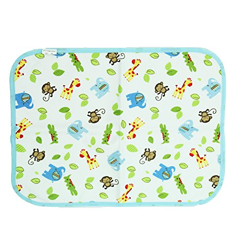 Fairy Baby Baby Changing Diaper Pad Waterproof Mat Natural Packing of 1(Monkey,40X30cm) (Changing Pad Monkey)