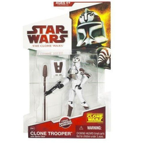 Star Wars: The Clone Wars Clone Trooper with Space Gear Action Figure