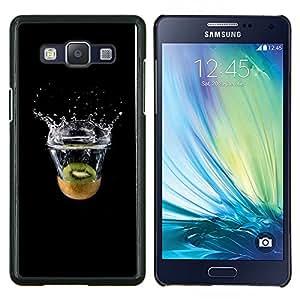 "Be-Star Único Patrón Plástico Duro Fundas Cover Cubre Hard Case Cover Para Samsung Galaxy A5 / SM-A500 ( Minimalista Kiwi Splash"" )"