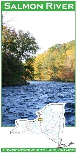 Salmon River (New York) 11x17 Fly Fishing Map