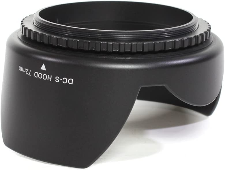 Pixco 72mm Flower Lens Hood For Canon Nikon Sony Olympus Pentax