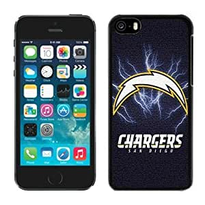 NFL San Diego Chargers 4 iphone 5C Casecell phone cases&Gift Holiday&Christmas Gifts NFIU8716450