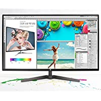 RAEAN Tech REX-32 QHD Slim Monitor 32 QHD (2560x1440) AD-PLS, 10 Bit Color, Flicker Free & Low Blue Light, Slim Design
