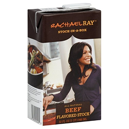 Rachel Ray, All Natural, Beef Stock in a Box, 32oz Box (Pack of - Ray All