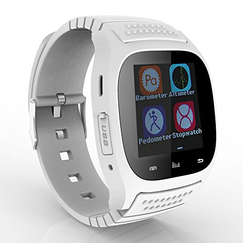 Koogogo® M26 Wearable Smartwatch,media Control/hands-free Calls/pedometer/anti-lost for Android/ios