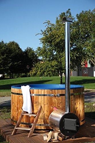Wolff Finn hogar Baño bottich Hot Tub 200 cm con exterior Horno ...