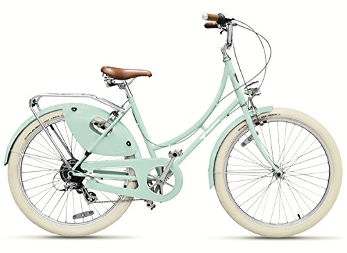 Peace Bicycles Dreamer Step thru 7d Fully equipped Vintage Dutch Style Designer City Bike with 7 speeds