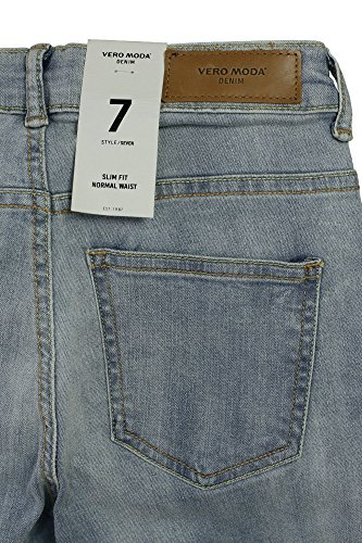 Light Nw Jeans Jeans Knee D Su sl Ct198 Vero Moda Donna Noos Blue Vmseven qn1H7wHSg