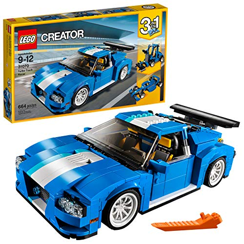 LEGO Creator Turbo Track Racer 31070 Building Kit (664 Piece) ()