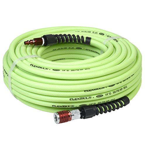 Flexzilla Pro Air Hose with ColorConnex Industrial Type D Co