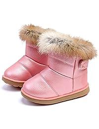 Girls Snow Boots Outdoor Children Winter Warm Shoes A88