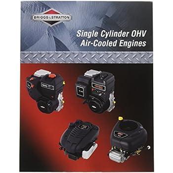 amazon com briggs & stratton 276781 single cylinder ohv repair briggs stratton engine code briggs & stratton 276781 single cylinder ohv repair manual