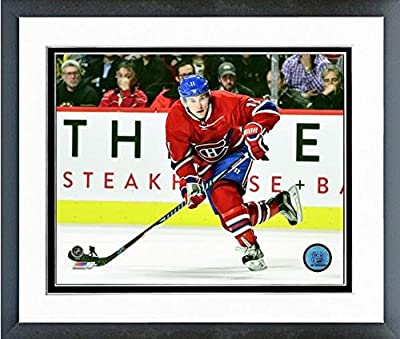"Brendan Gallagher Montreal Canadiens 2016-17 Action Photo (Size: 12.5"" x 15.5"") Framed"