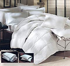 For those looking to threat themselves with a luxurious bedding set, the hotel peninsula Luxury Tier Naples 700 Thread Count Down alternative has everything you need to sleep like a King. Our best products have been put together as a bundle f...