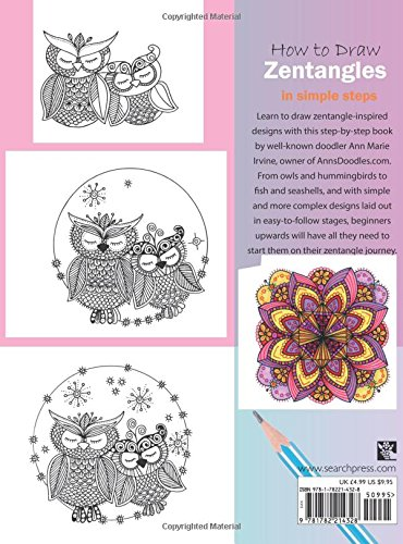 How To Draw Zentangles In Simple Steps Amazoncouk Ann Marie Irvine Books