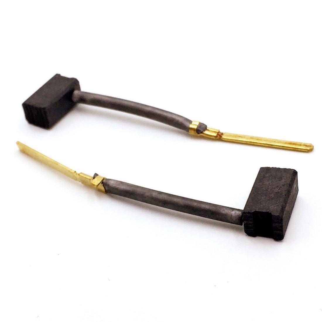 Replacement Part 445861-25 Carbon Brushes (1 pair) for DeWalt/Black & Decker Power Tools, Porter Cable, Drill,Jig Saw,Gauge Shear,Plate Joint,Sander,Grinder,Gauge Nibbler,Polisher zchoicestore