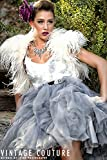 Ostrich Feather Bridal Bolero, Ostrich Feather crop jacket