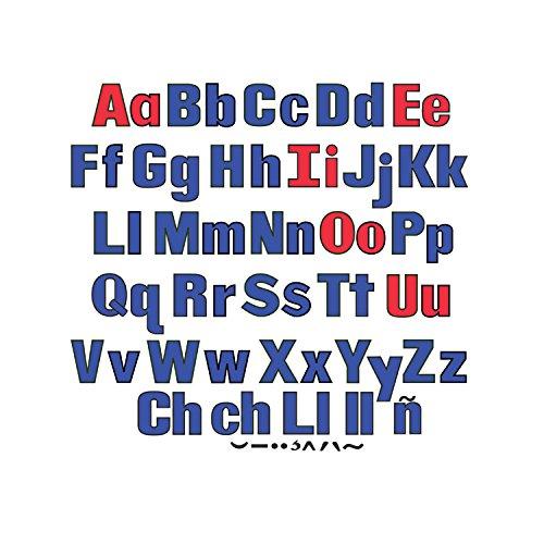 Little Folk Visuals LFV22428 Upper & Lower Case Letters Flannel Boards