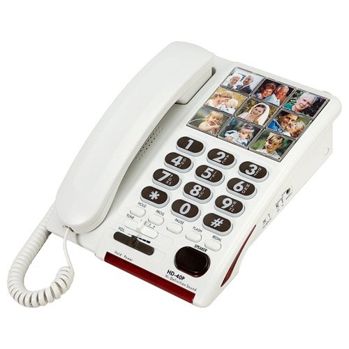 Serene Innovations HD-40P High Definition Amplified Photo (Amplified Telephone Ringer)