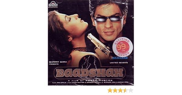 Baadshah Hindi Music/ Bollywood Songs / Film Soundtrack / Shahrukh Khan /  Twinkle Khanna / Abhijeet & Anu Malik