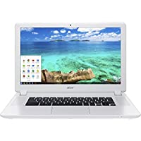 2017 Newest Acer 15.6 FHD (1920x1080) IPS Chromebook - Intel Celeron-3205U, 4GB RAM, SSD, Intel HD Graphics, HDMI, WIFI, Bluetooth, Chrome OS-White (16GB)