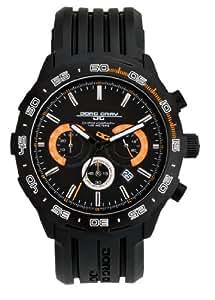 Jorg Gray 1600 Chronograph Black/Orange Watch